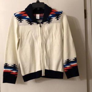 GYMBOREE M (7-8) boy's sweater.